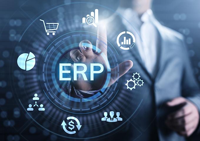 基幹システム ERP 画像